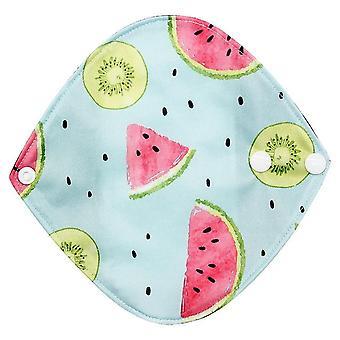 Cute Snap Design genanvendelige Bambus Klud Vaskbar Menstruationsbukser Pad - Mama Sanitary Håndklæde Pad