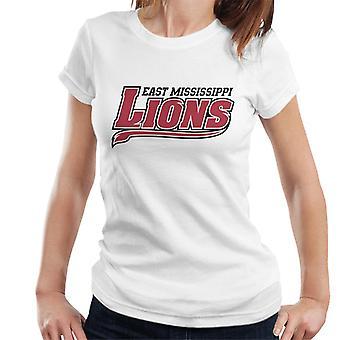East Mississippi Community College Lions mörka svans logo kvinnor ' s T-shirt