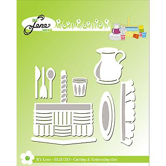 By Lene Picnic Basket Cutting & Embossing Dies