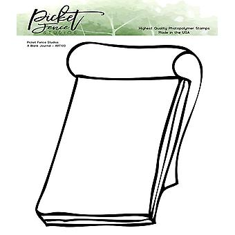 Picket Fence Studios A Blank Journal Clear Stamps