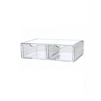 Cosmetic Organizer Clear Acrylic Storage Case