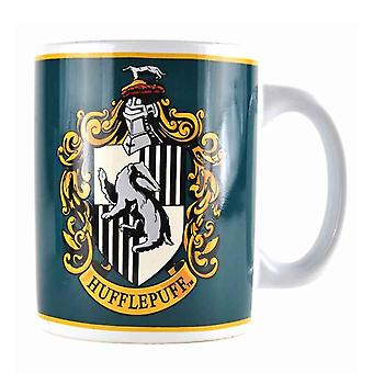 Harry Potter Mug Hufflepuff Crest Emblem Logo new Official White Boxed