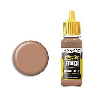 Ammo by Mig Acrylic Paint - A.MIG-0117 Warm Skin Tone (17ml)