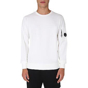 C.p. Unternehmen 09cmss001a002246g103 Männer's weiße Baumwolle Sweatshirt