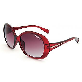 Sunglasses Women's Red-Brown UV400