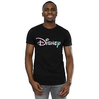 Disney Men's Pastel Logo T-Shirt
