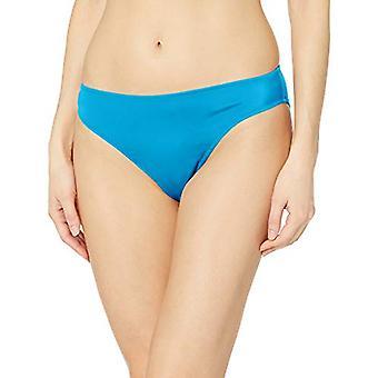 Essentials Women's Classic Bikini Swimsuit Bottom, Teal, S