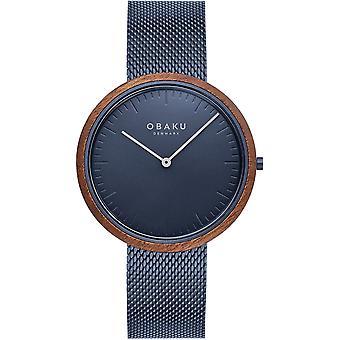 Obaku Trae Marine Men's Wristwatch V245GXLLML