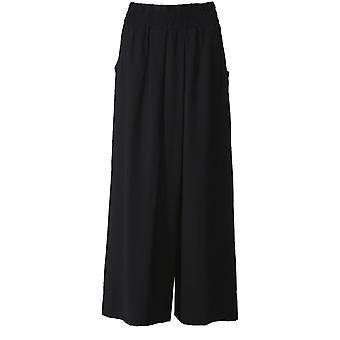 Crea Concept Pleated Wide Leg Trousers