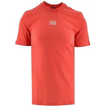 HUGO Open Pink (Rood) Durned 203 T Shirt