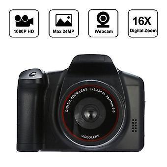 Hd 1080p Video Camcorder Handheld Digital Camera 16x Digital Zoom De Video  (black Video Camcorder)