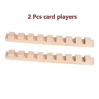 Wooden Domino Institution Accessories Building Blocks Toy For Children