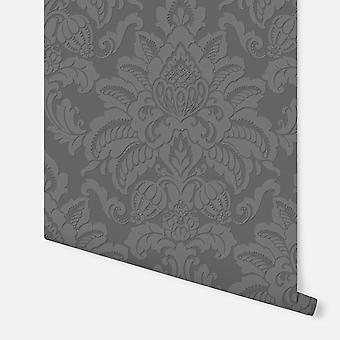 673205 - Glisten Gunmetal - Arthouse Wallpaper