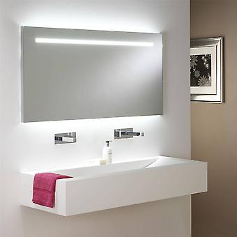 LED Indoor / Outdoor Einbau rechteckige Wandlicht weiß, gebürstet Chrom IP65