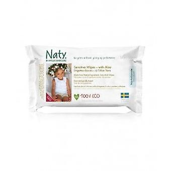 Nature Baby - Sensitive Wipes With Aloe