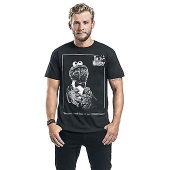 Sesamstraat Unisex Volwassene Het Monster T-Shirt