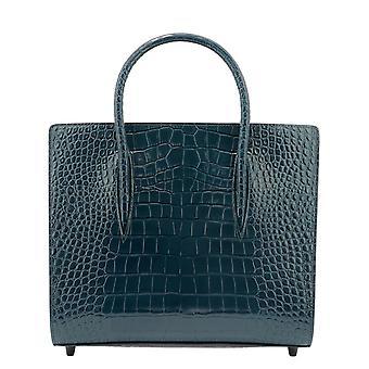 Christian Louboutin 3205283u660 Women's Green Leather Handtas