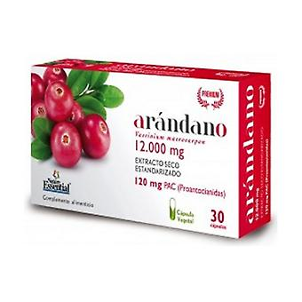 Cranberry 12,000 mg 30 capsules