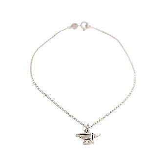 Bracelet with anvil pendant. 925 Silver Tool: Artisan, Workshop, Apprentice