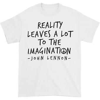 John Lennon John Lennon Reality Imagination T-shirt