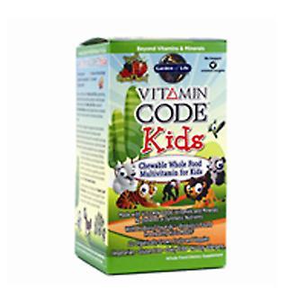 Garden of Life Vitamin Code, Kids, 60 chewable