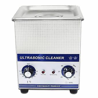 2.0l Professional Ultrasonic Cleaner Machine With Mechanical Timer Heated Stainless Steel Cleaning Tank 110v/220v