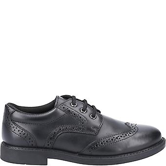 Hush Puppies Boys Harry Leather Dress Shoes