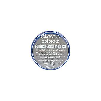 Snazaroo Halloween Fancy Dress Accessories - Classic Colours Water Based Face & Body Paint - Light Grey 18ml