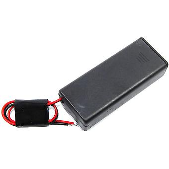 2xAAA Battery Box with Switch