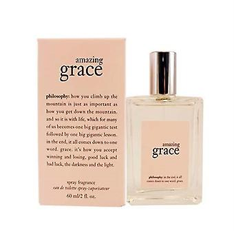 Philosophy Amazing Grace for Women 2 oz Eau De Toilette Spray