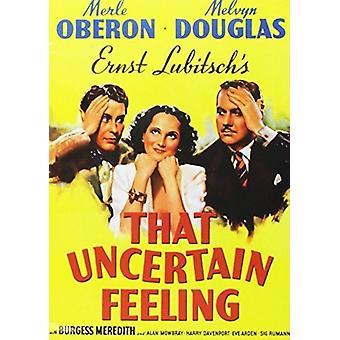 Den osäkra känsla [DVD] USA importen