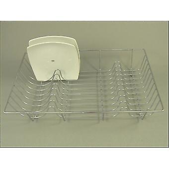 Apollo Housewares Flat Wire Dish Drainer Chrome 2918