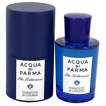 Blu Mediterraneo Chinotto Di Liguria by Acqua di Parma Eau de Toilette Spray (Unisex) 2,5 oz (naiset) V728-541593