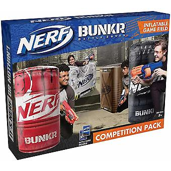 Nerf bunker competition pack, indoor and outside fun, for children age 8 years
