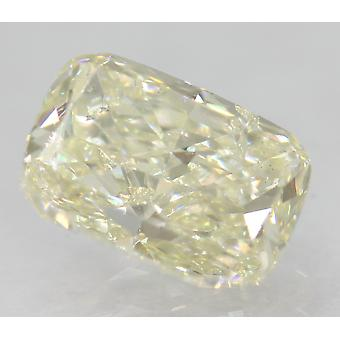 Certified 1.19 Carat H Color VS2 Cushion Natural Loose Diamond 7.37x5.2mm