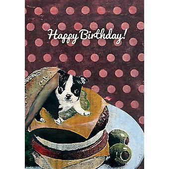 Happy Birthday Boston Terrier Verjaardagskaart