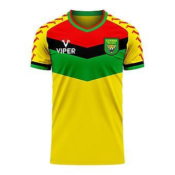 Guyana 2020-2021 Home Concept Football Kit (Viper)