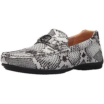 STACY ADAMS Men's Cyprus Moc Toe Bit Slip-on Driving Style Loafer