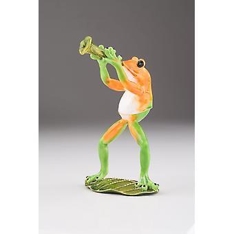 Trumpet Playing Frog