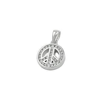 Anheng Fredstegn Zirconia Sølv 925
