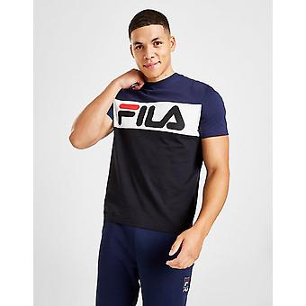 New Fila Men's Yaron Short Sleeve T-Shirt Blue