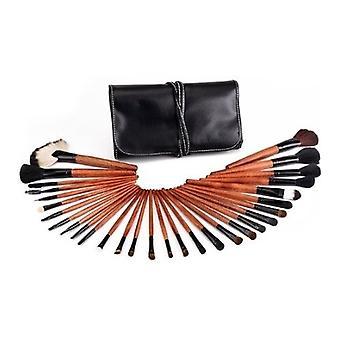 30 Pcs Professional Make Up Brush Set con custodia nera