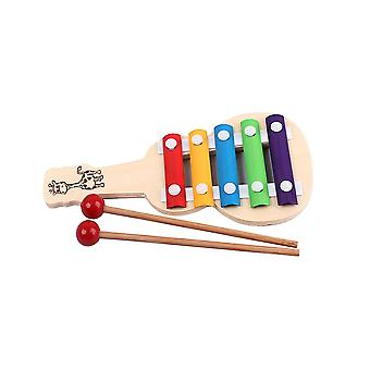 Music Bell Toy Five Tone Energy Chime Musical Educational Percussion Instrument