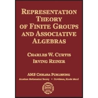 نظرية التمثيل للمجموعات المحدودة والجبر النقابي من قبل تشارلز دبليو كورتيس