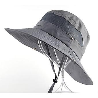 Sun Hat Men & Bucket Hats Women Summer Cap & Wide Brim Uv Protection Flap Hat