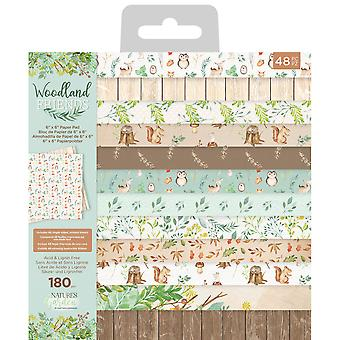 Crafter's Companion Woodland Friends 6x6 Inch Paper Pad