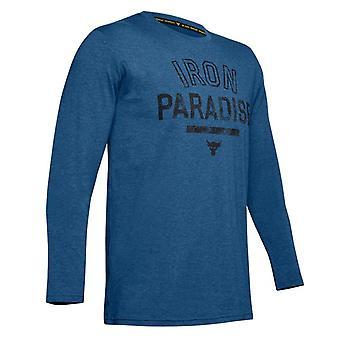 Under Armour x Project Rock Mens Iron Paradise Top T-Shirt 1346101 480