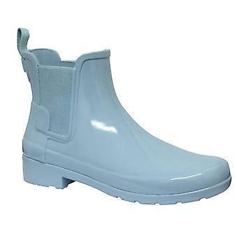 Hunter Original Raffinerade Chelsea Gloss Womens Wellington Boots Blå WFS1017RGL