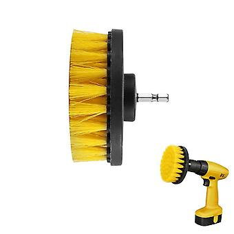 Power Drill Scrub Clean Brush For Leather Plastic Wooden Furniture Car