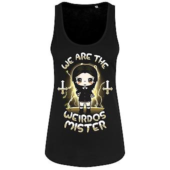 Mio Moon Womens/Ladies We Are The Weirdos Mister Chibi Vest Top